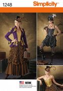 1248 Misses' Steampunk Costumes