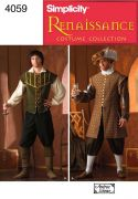4059 Men's Renaissance Costumes