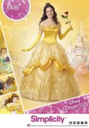 8406 Disney Beauty and the Beast Costume for Misses