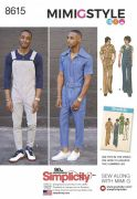 8615 Men's Vintage Jumpsuit and Overalls