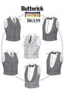 B6339 Single or Double-Breasted Vests
