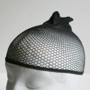 Wig cap - black mesh (pack of 2)