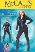 M7341 Women's Zippered Bodysuit by Yaya Han