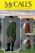 M7736 Men's Outlander Costume