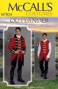 M7824 Men's Outlander Costume