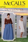 M7940 Misses' Outlander Costume