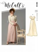 M8132 Misses' 18th Century Dresses and Jacket