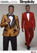 8899 Men's Tuxedo Jackets, Pants and Bow Tie