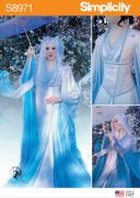 8971 Misses' Fantasy Costumes by Firefly Path